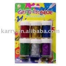 Schulmaterial Glitter Kleber