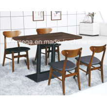 Luxury 4 Person Wooden Tables and Chairs for Restaurant (FOH-BCA16)