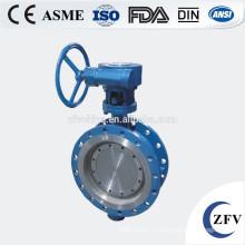 Фабрика цена дроссельный клапан рука колесо привода, мягкие уплотнения бабочка клапан, клапан бабочка