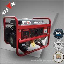 Bison China 1.5kw 4HP 168F ISO9001 Générateur d'essence à refroidissement par air