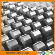 Nicht Grain Silicon Stahl Spule bei Kernverlust 4.2W / kg Grad W800