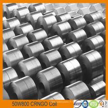 Grains non silicium acier bobine à noyau perte 4.2W / kg Grade W800