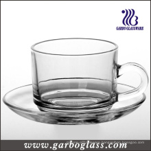 Tableware Glass Mug & Saucer Set/Tea Set (TZ-GB09D2406)