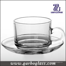 Louça de vidro & Saucer Set Set / chá (TZ-GB09D2406)