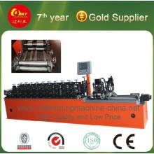 Máquina formadora de rollos de intercambio de correas C / Z / U / Omiga