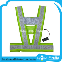 New design high visibillity LED vest