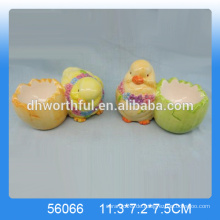 Großhandel niedlichen Hühnerei Eierhalter, Keramik dekorative Ei steht