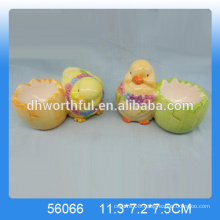 Wholesale cute chicken egg holder,ceramic decorative egg stands