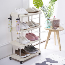 4 Tier Shoe Rack Stand Tower Organizer