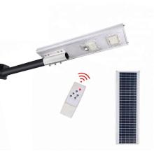 Lampadaire solaire intégré 10V 25W 40000MAH