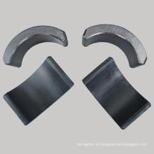 Hartferrite Arc Shaped Y35 Ferrit Magnet