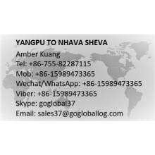 Guangxi Yangpu to India Nhava Sheva