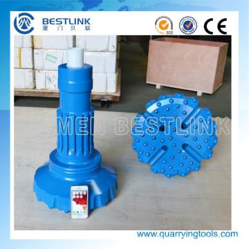China utiliza DTH Hammer bits