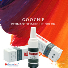Goochie Derma Test Aapproval Pure Pflanze Augenbraue Lipst Maekup Pigment Tattoo Ink
