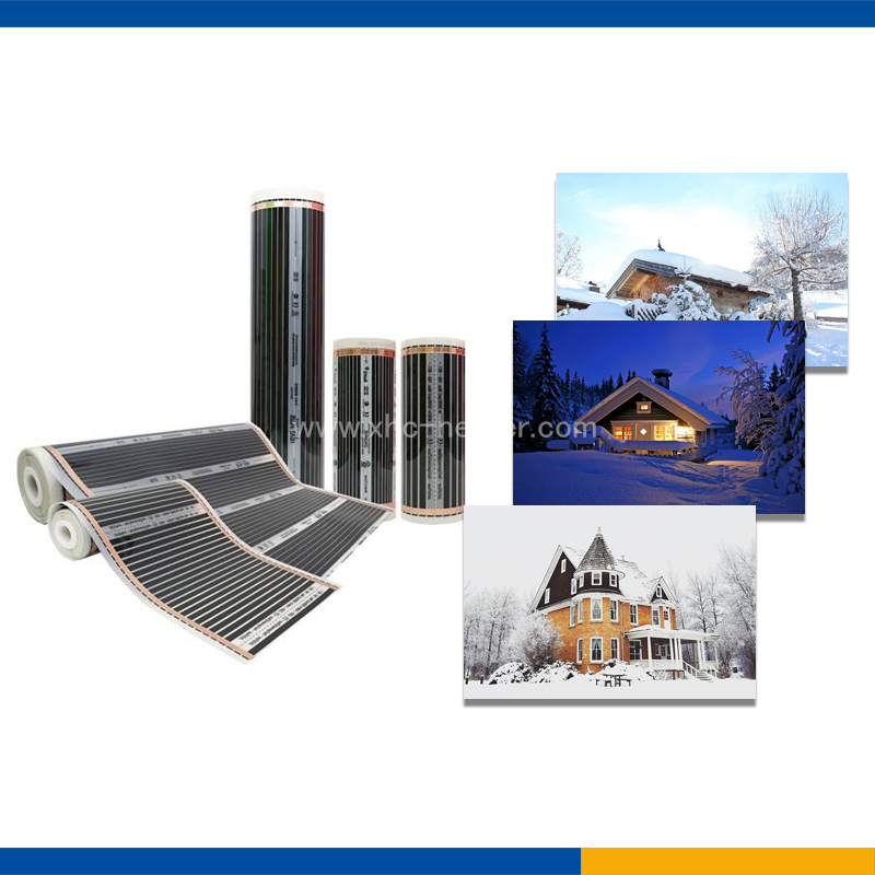 Prevent roof collapse heat mat with CE