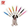 2PCS Pets Dogs Training Obedience Assobia com Cordão