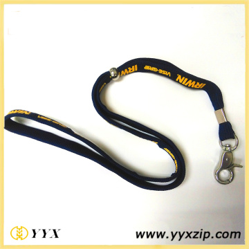 1 Farbe Siebdruck Polyester Lanyards Tube
