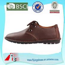Zapatos de cuero de los hombres del cuero genuino del ante de la vaca, zapatos de cuero oxford de los hombres con estilo del cuero, zapatos de los hombres zapatos de cuero