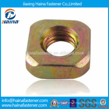 DIN557 carbon steel zinc plated suqare nut