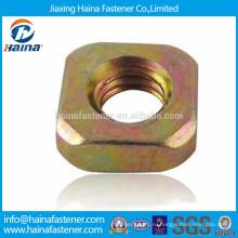 DIN557 углеродистая сталь оцинкованная гайка