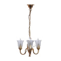 Dollhouse miniature battery powered ceiling light fixtures