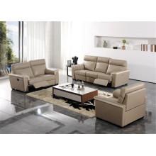 Sofá de salón con sofá moderno de cuero genuino (431)
