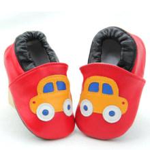 Zapatos de bebé de suela de cuero suave Zapatos de cuna