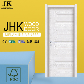 JHK-Raised Panel Interior MDF Melamine Door