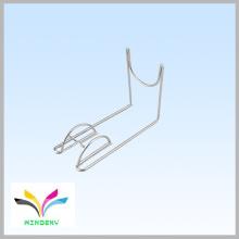 Kundenspezifische Schuhaufbewahrung Art und Weise Chrom-Arbeitsplatte Metall-Schuh-Display-Racks