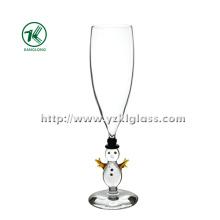 Single Wall Champagne vidro por SGS (dia 6 * 24)