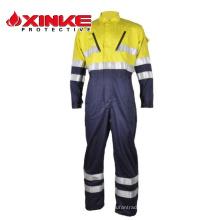 Chaud Ventes Twill Européen Standard Sécurité Anti-Statique CVC ignifuge chaudière costume