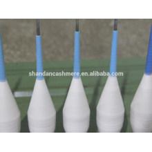 Garne stricken Kaschmir Kegel Garn aus der Inneren Monglia Fabrik für Strickwaren Garn zum Stricken