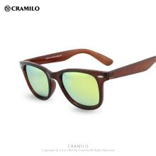 Cramilo CLASSIC Солнцезащитные Очки Мужчины Женщины Бренд Дизайнер клуб Очки Покрытие Зеркало Солнцезащитные Очки Мода cuculos De Sol FP027