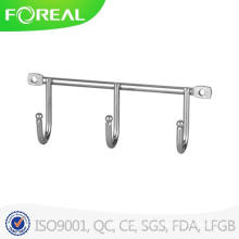 Chromed Metal Wire Triple Hooks