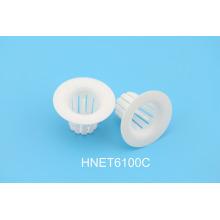 6100C Trampas dentales desechables // Trampa de evacuación transparente / Trampa de cuspidor