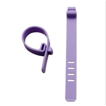 Lavender free samples design belts, your own design cheap price silicon wire tapes watch