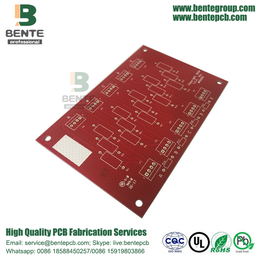 2-layers Thick Copper PCB FR4 Tg135 PCB 5oz