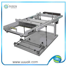 Manual cylindrical screen printing machine for pen