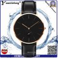 Yxl-264 Simple Design Fashion Men′s Watch Dw Style Quartz Genuine Leather Ladies Women Wrist Watch Clock Custom Watches