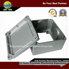 Bearbeitungsstahl-Metallkasten-maschinelle Bearbeitungsteile CNC
