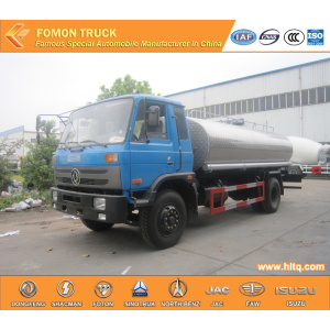 10cbm 10m3 Dongfeng stainless steel washing truck