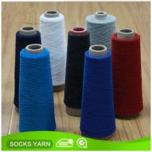 Hilado de algodón reciclado poliéster mezclado para calcetín