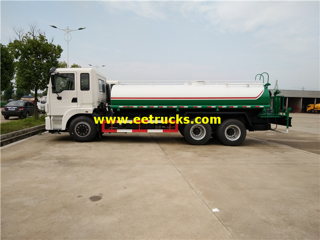 15m3 Clean Water Tanker Trucks