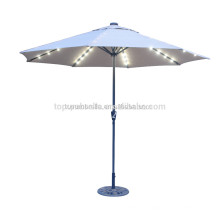 Best quality umbrella garden outdoor LED umbrella