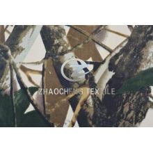 100% sarja algodão cinza floresta camuflagem impressão tecido colete (zcbp260)