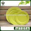 Billig Großhandel Dinner Teller biologisch abbaubare Teller Platte