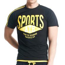 cheap digital sublimation printed fashion gym tshirt