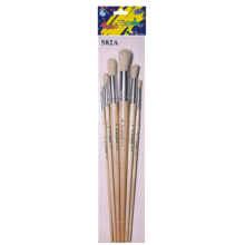 6pcs Artists Painting Brushes Set