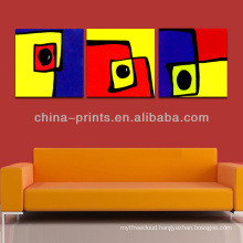 New Design Inkjet Abstract Printed Canvas Artwork