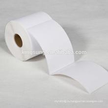 4х6 прямая термопечать этикетки 250/500 шт/ рулон этикетки в dymo принтеры